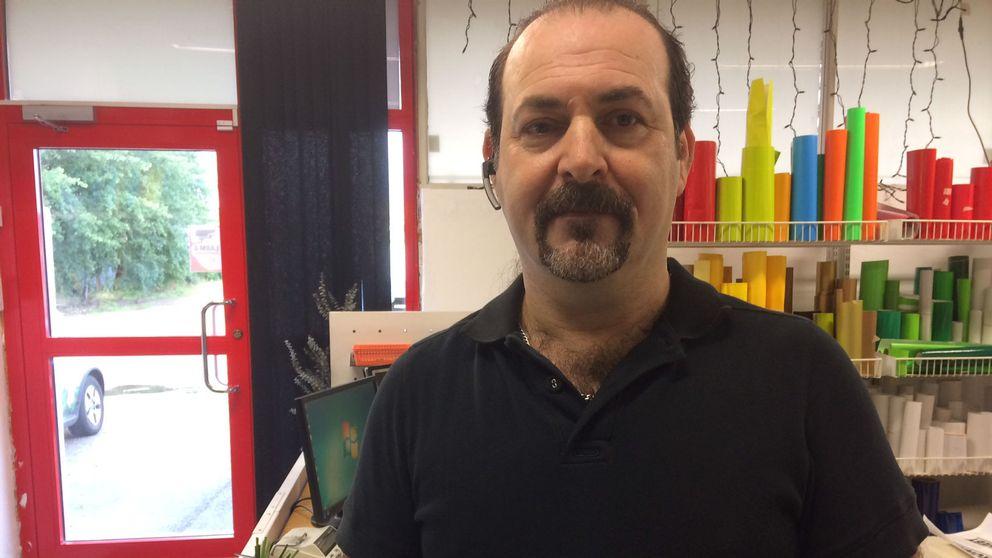 Sidan Khalil driver Ronnebys enda arabiskatalande reklambyrå.
