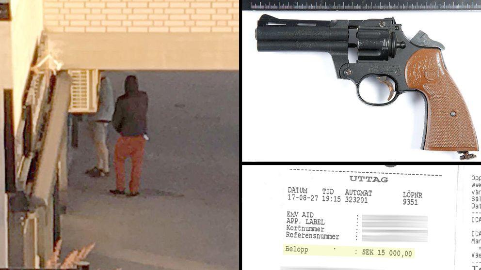 Knarkskuld bakom pistolrån mot 69-åring