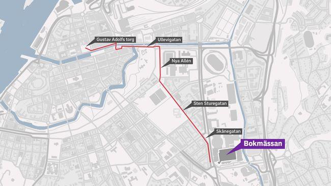 gustav adolfs torg göteborg karta Nazister tillåts demonstrera i Göteb| SVT Nyheter gustav adolfs torg göteborg karta
