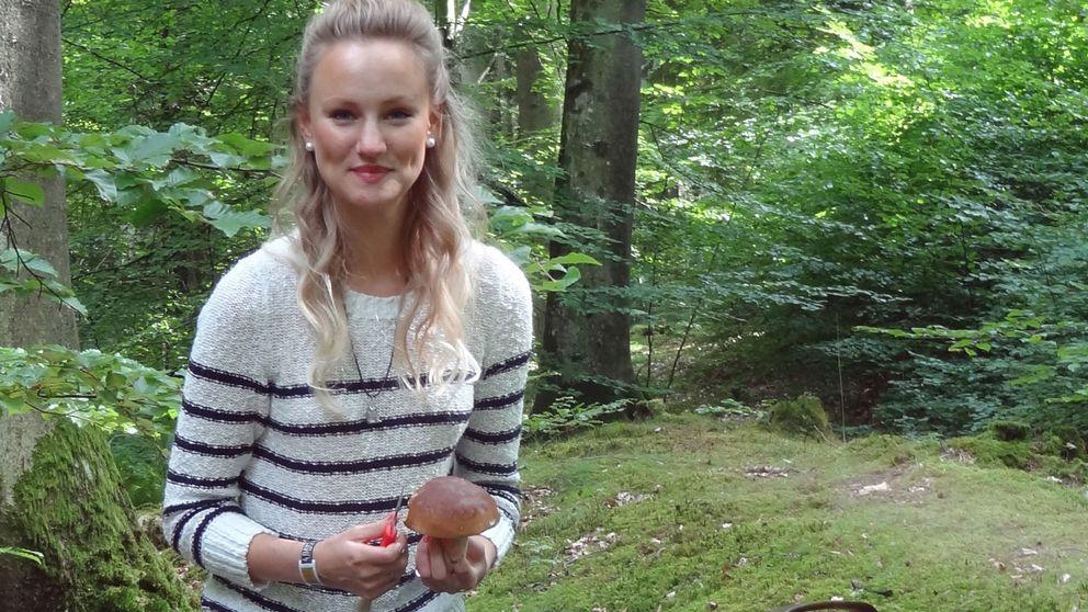 Helena Björnström, svampkonsulent.
