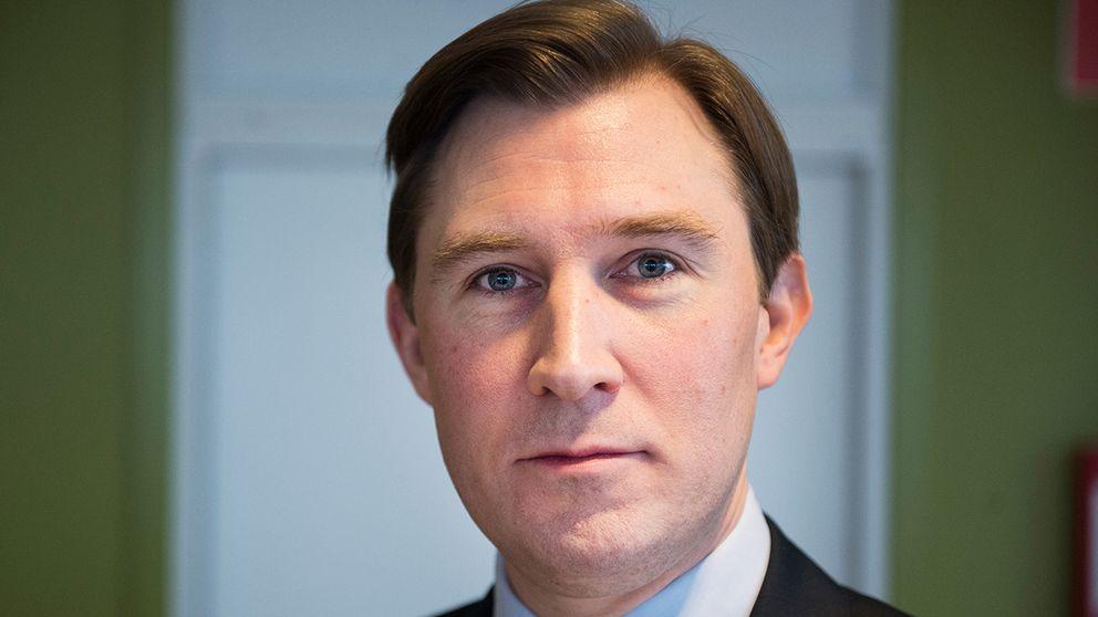 Henrik Fritzon (S), regionstyrelsens ordförande i Region Skåne.