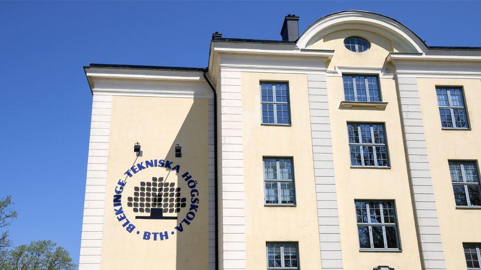 Blekinge tekniska högskola. Arkivbild.