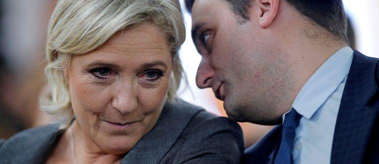 Marine Le Pen och Florian Philippot