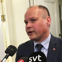 Justitieminister Morgan Johansson (S)