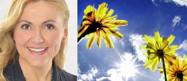 """""""Det blir fint och vackert"""", säger Deana Bajic, meteorolog på SVT."""