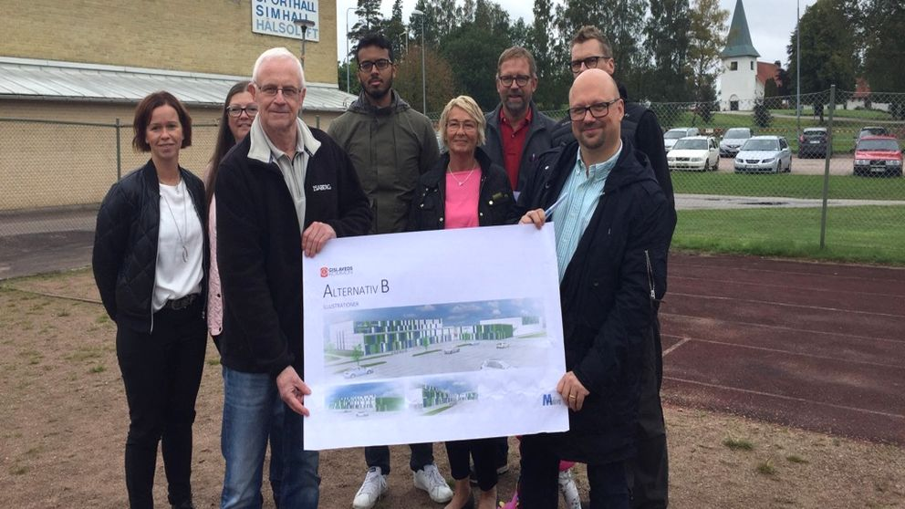Ny idrottshall planeras i Smålandsstenar SVT Nyheter
