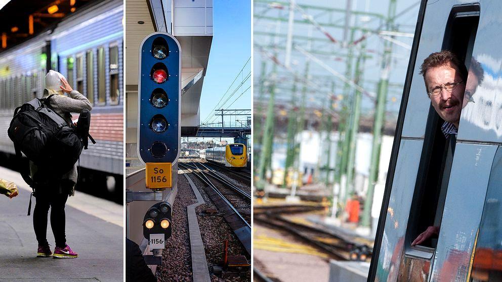 Fler tågförseningar på grund av signalfel