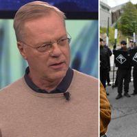 Ordförande för SKMA, Svante Weyler reagerar på polisens agerande under Nazistdemonstrationen i Göteborg.