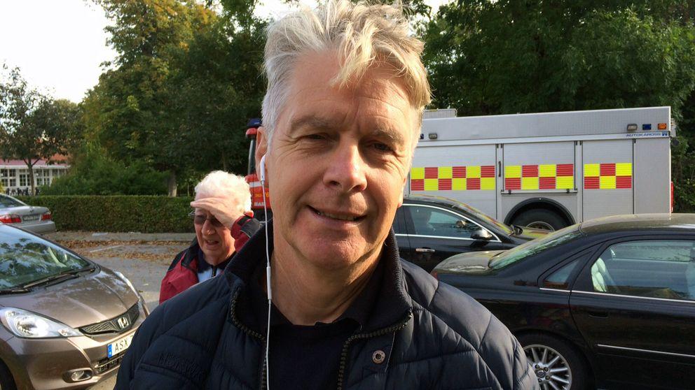 Mats Persson är fritidschef i Vellinge kommun.