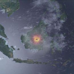 En simulerad tänkbar mindre kärnvapenexplosion