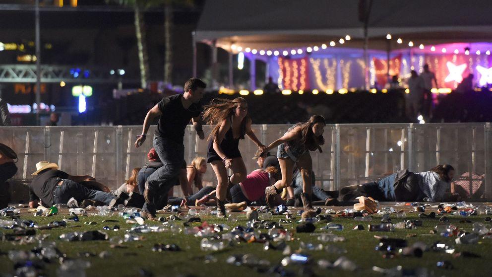 Skottlossning i Las Vegas.