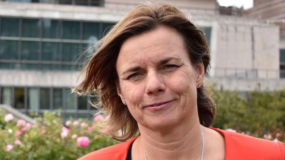 Klimatminister Isabella Lövin.