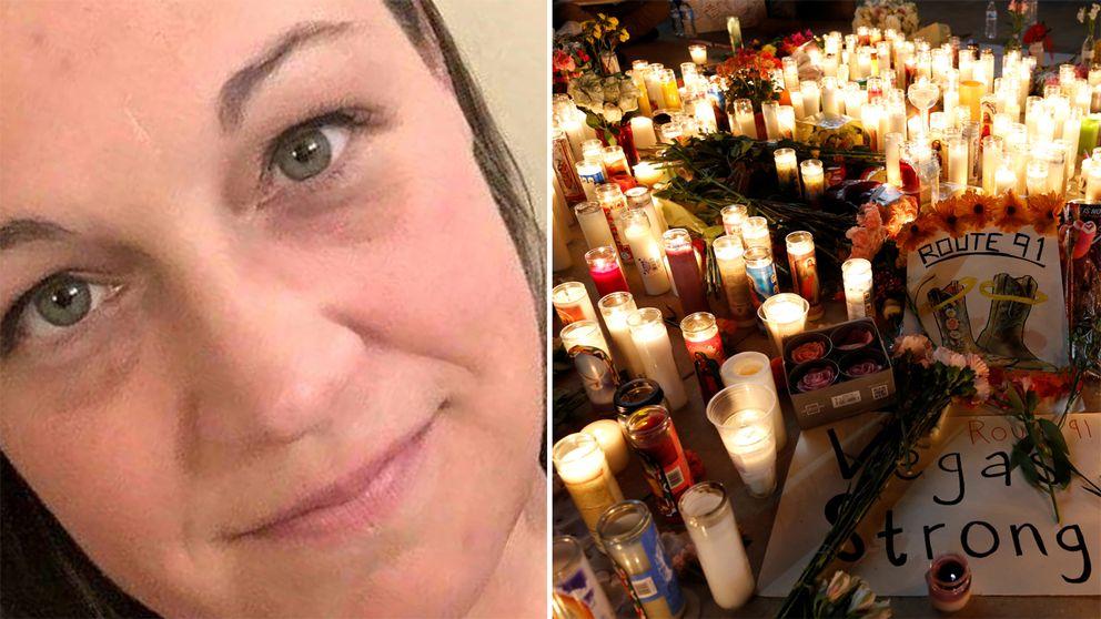 Jessica Klymchuk har också identifierats som ett av offren. Hon var från en liten stad i Alberta i Kanada och var på konserten med sin fästman.