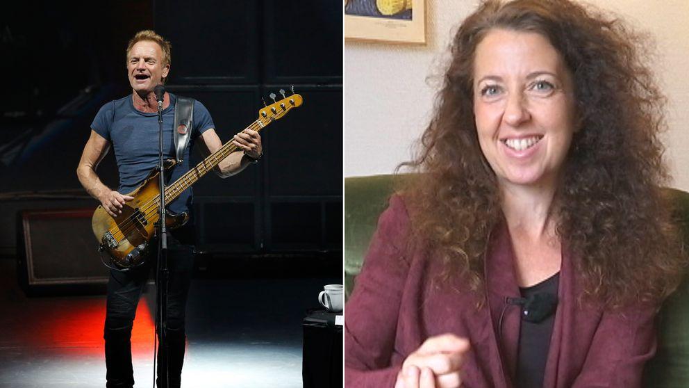 Helena Isaksson Baeck är kvinnan bakom musikprojektet Songlines som fick pengar av världsstjärnan Sting.