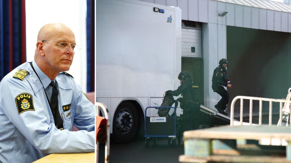 Erik Nord ledde utredningen där en 20-årig man från tyskland greps misstänkt för försök till allmänfarlig ödeläggelse.