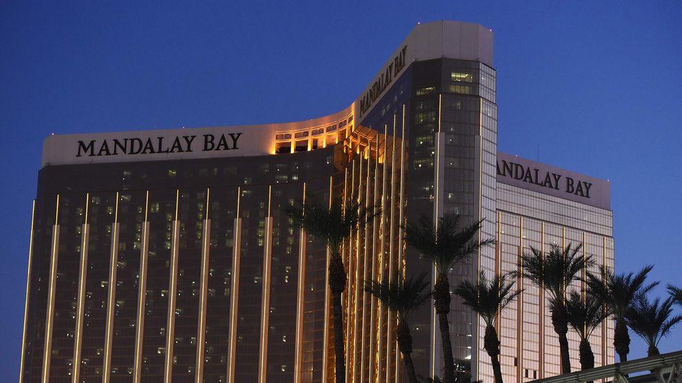 Mandalay Bay Hotel & Casino i Las Vegas. Stephen Paddock förskansade sig i sitt rum på 32:a våningen och sköt vilt mot en intilliggande musikfestival.