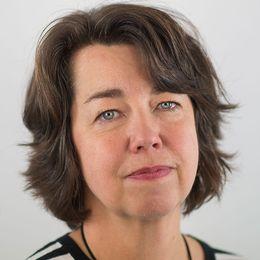 Pia Bernhardsson, utrikeschef, SVT