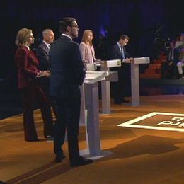 Partiledardebatten i SVT:s Agenda