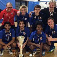 På söndagen vann IK Surd Deaf Champions League i futsal för klubblag med spelare under 21 år i Milano, Italien.