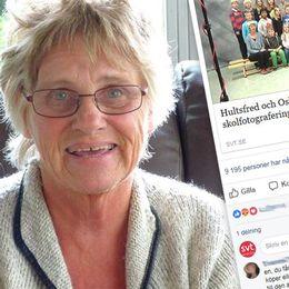 Susanne Widell värdesätter skolfotona från sin ungdom.