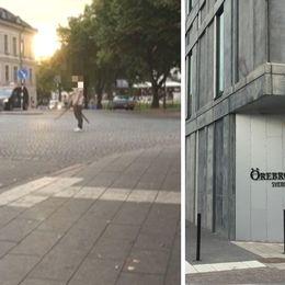 Delad bild på händelsen och Örebro Tingsrätt