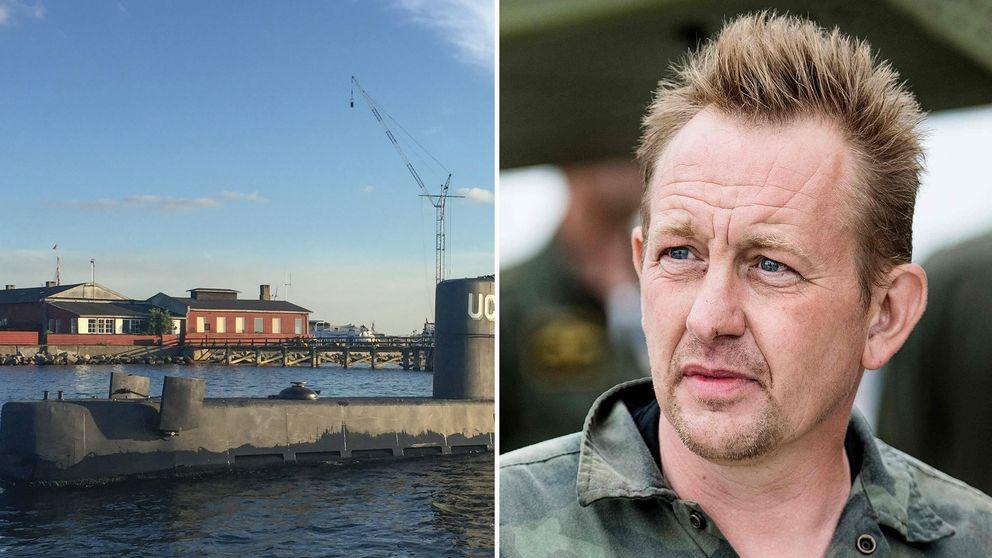 Ubåtsägaren Peter Madsen sitter häktad, misstänkt för mord på journalisten Kim Wall.