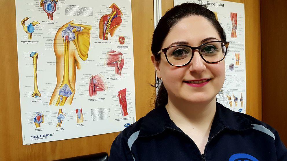 Ghada Alako läkare sfx sfi södertälje kringlans vårdcentrum