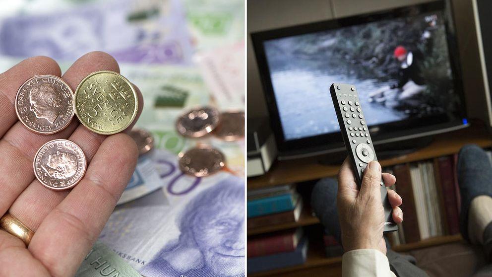 Pengar och en tv