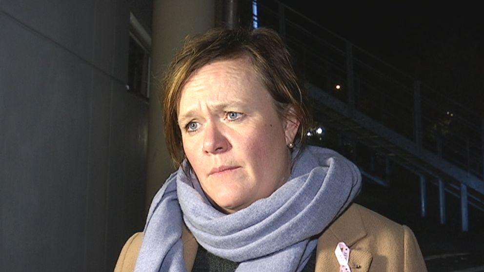 KIF Örebros ordförande Charlotta Nordenberg