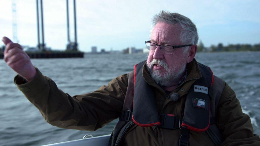 Leif GW Persson följer ubåtens rutt