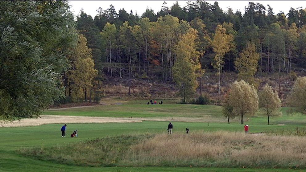 Golfbanan vid Högantorp i Salem
