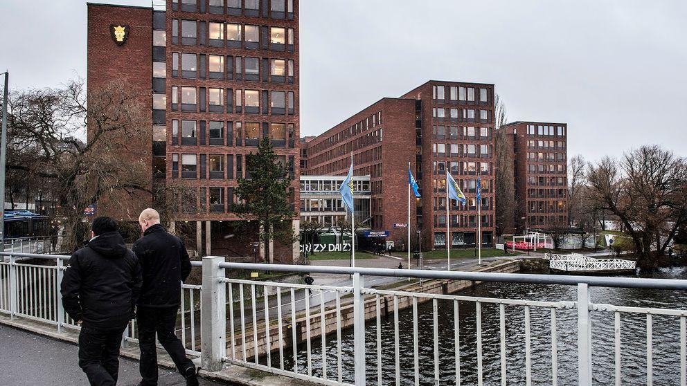 Trafikkontoret sitter i Tekniska nämndhuset på Kungsholmen.