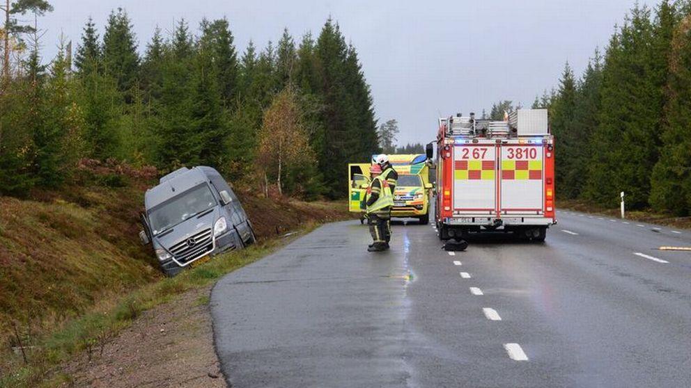 olycka minibuss