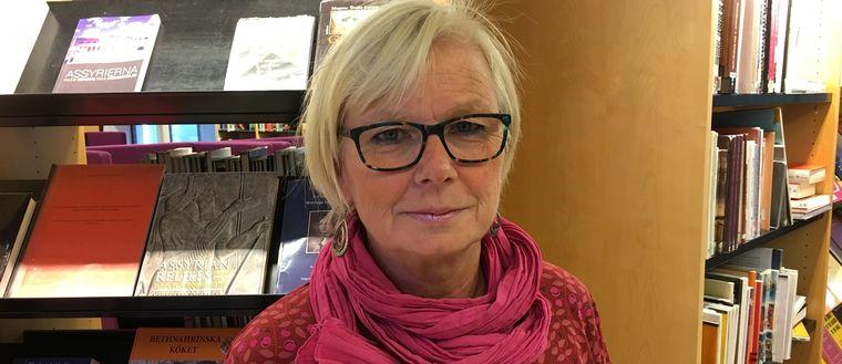 Ulrika Nyström, gruppchef Södertälje biblioteken