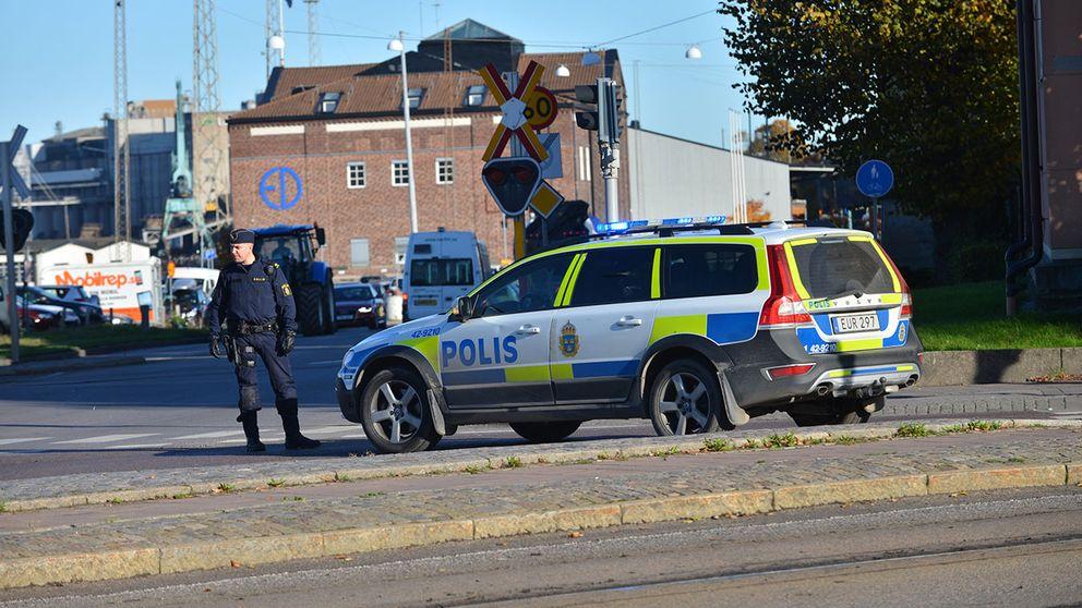norrköping misstänkt bomb