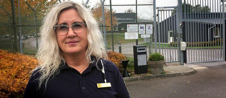 Camilla Aamoth är tillförordnad kriminalvårdschef.