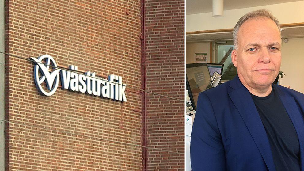 Håkan Franson, IT-chef på Västtrafik.