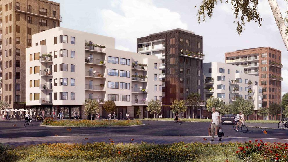 nya bostäder flemingsberg hälsovägen