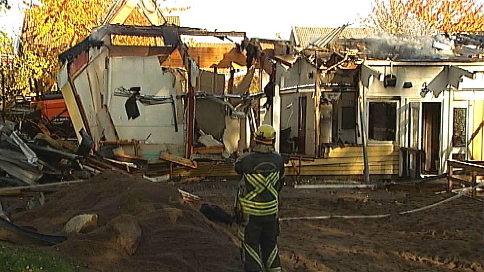 Brand förskola Smultronet Norrköping
