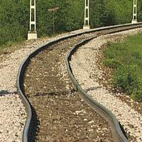 solkurva järnväg spår