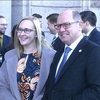 Riksdagens talesmän från Finland och Sverige träffades.