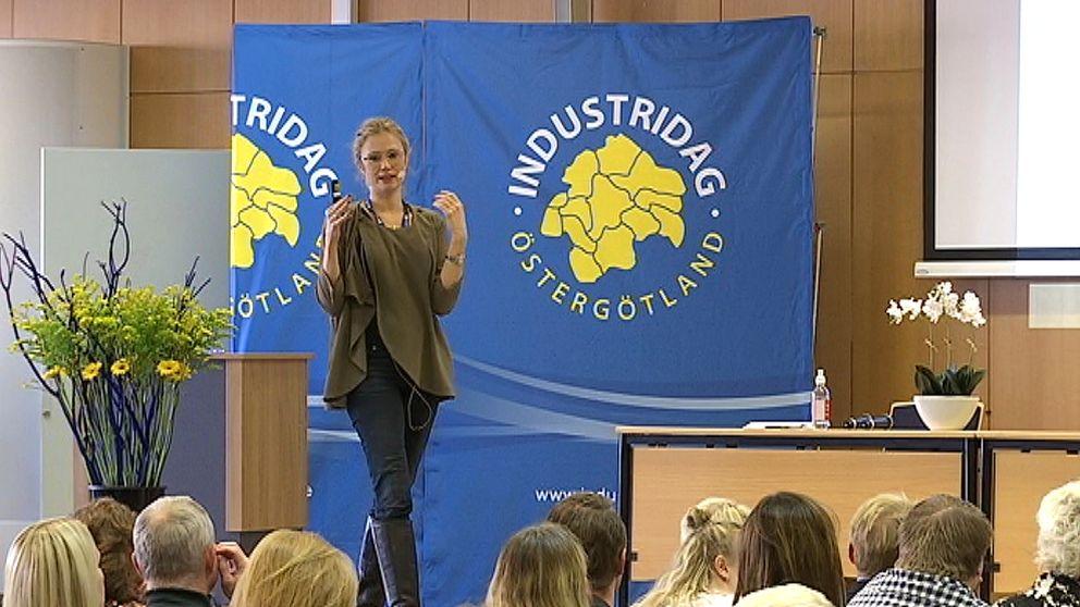 Föreläsning på Industridagen i Östergötland
