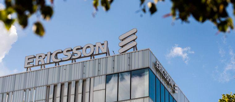 Telekomföretaget Ericssons huvudkontor i Kista utanför Stockholm.