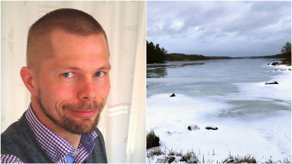 Niklas Hjerdt, hydrolog SMHI.