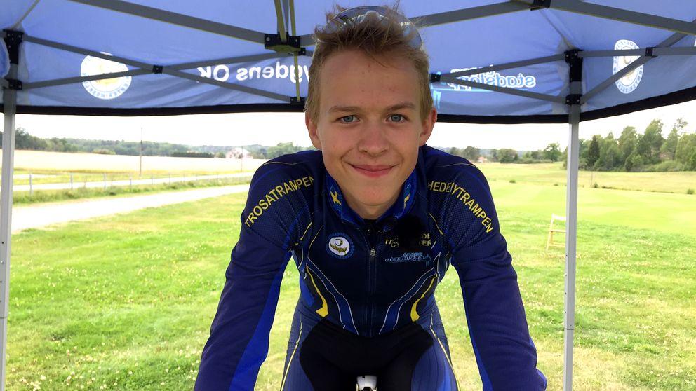 Hjalmar Klyver, cyklist.