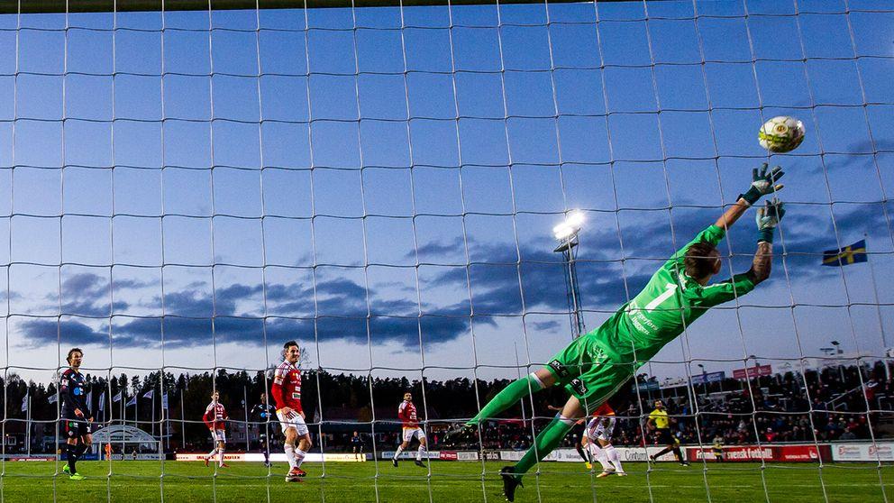Helsingborgs Bradley Surprise Ralanis 1- 1 räckte inte hela vägen.