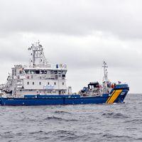 Kustbevakningen miljöskyddsfartyg KBV 031