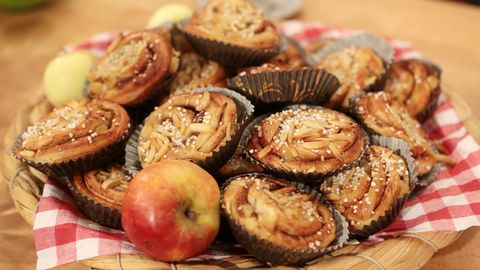 recept med äpple
