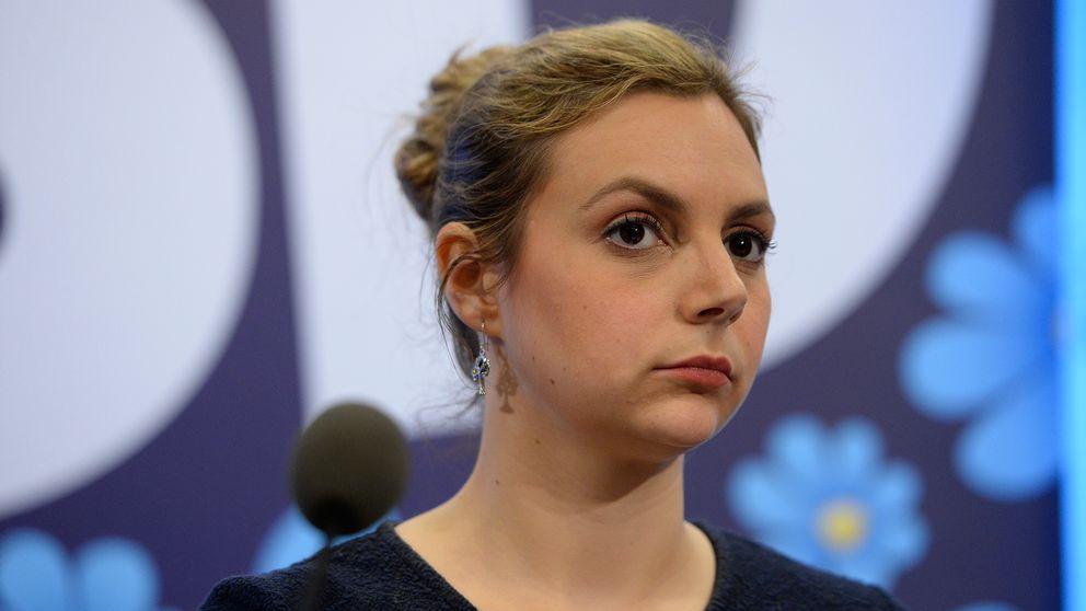 Paula Bieler (SD) har utsatts för indirekta hot via nätet.