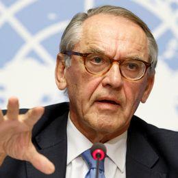 Jan Eliasson, fd vice generasekr FN, diskuterar hur FN:s globala mål ska nås.